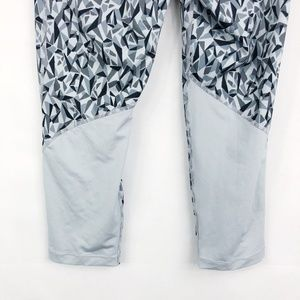 Nike Pants - Nike Pro | Gray Geometric Mesh Capri Leggings